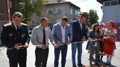 Обновена сграда на пожарната откриха в Благоевград с водосвет