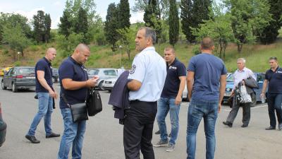 Вижте снимки от арестите в КАТ-Благоевград