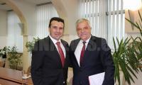 Кметът Владимир Москов бе част от делегацията на БСП, която се срещна със Зоран Заев в Македония