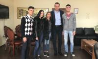 Областна администрация Благоевград посрещна своите  Мениджъри за един ден