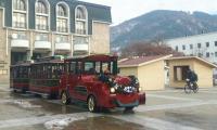 Децата на Благоевград пътешестват с Коледно влакче