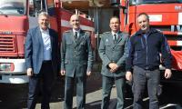 Разлог получи пожарна кола като дарение от РД ПБЗН-БЛАГОЕВГРАД