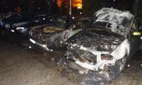 Три автомобила горяха тази сутрин в Благоевград