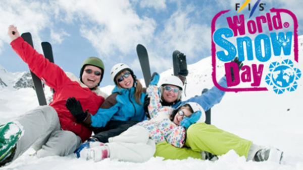 Ски за левче за децата на Световния ден на снега в Банско