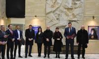 Кметът д-р Атанас Камбитов  присъства на официалното откриване на  пътуваща изложба  140 години от Учредителното Събрание и приемането на Търновската конституция