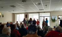 Доброволци от Аржентина, Чили, Мексико и Германия с концерт в Дом за стари хора  Св. Петка - Благоевград