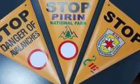 Нова маркировка за забранените и опасни места за ски в Пирин