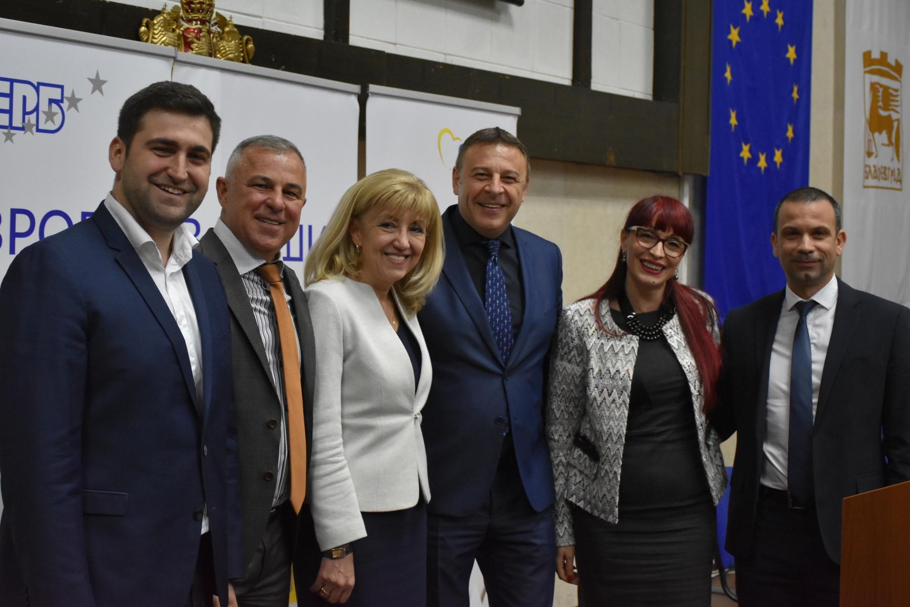 Кметът Камбитов на среща  Европа в нашия дом : При липса на консолидация на Асоциацията по ВиК, трябва да търсим възможности за целево финансиране