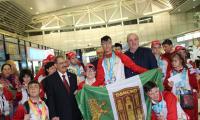Банско посрещна своя герой на летище София