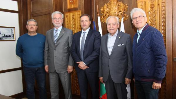 Кметът на Банско се срещна с представители на индустриалния бизнес в Бурса