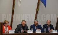 Кметът на община Благоевград д-р Атанас Камбитов и кметът на община Драма Кристолулос Мамсакос представиха дейностите по съвместен проект