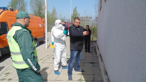 На ГКПП Илинден се проведе учение за реакция при незаконен внос на ядрен материал
