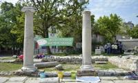Ден на земята в раннохристиянски комплекс-Сандански