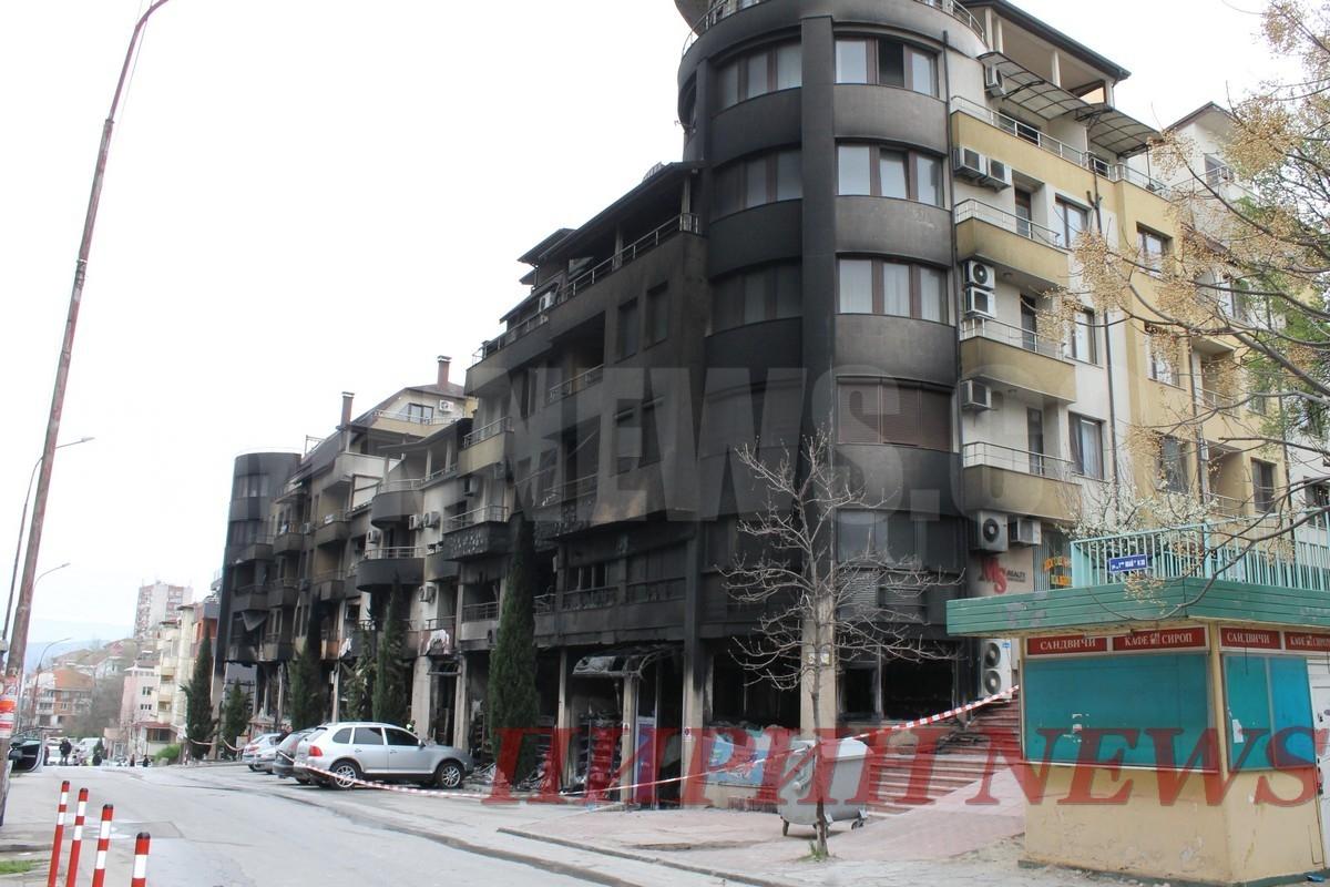 Експертите се произнесоха: Изгорелият блок в Сандански е годен за живеене