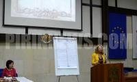 Заместник- кметът на Благоевград Христина Шопова откри кръг  Знание  в надпреварата  Училище на годината