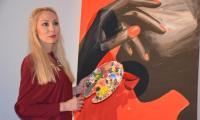 Любител-художник нареди своя първа изложба в Симитли