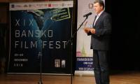 Градоначалникът на Банско Иван Кадев откри  Международния фестивал на планинарското и екстремно кино