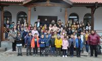 Ученици от Симитли на посещение в Руенския манастир