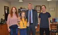 Кметът на Разлог награди малка шампионка