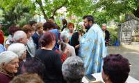 В Симитлийско вярата е издигната в култ, хората почетоха Свети Георги с курбани и молитва