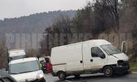 Поредна тежка катастрофа в Кресненското дефиле, португалец загина, двама са ранени