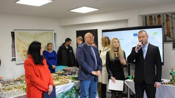Министър Димитров откри информационен център на Национален парк  Рила  в Благоевград