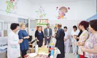 Кметът на Сандански удържа на думата си,  днес  отвори врати обновеното детско отделение към МБАЛЮгозападна