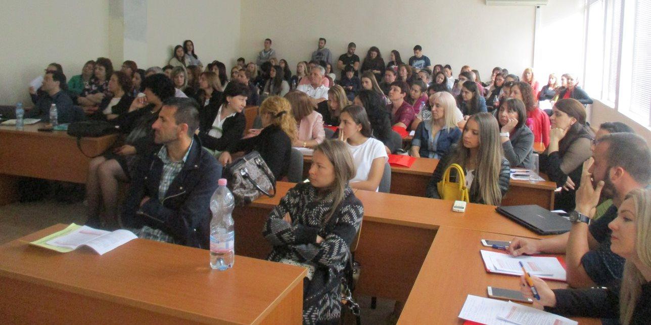 Проведе се 19-тата Студентска научна конференция на факултета  Обществено здраве, здравни грижи и спорт
