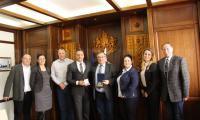 Кметът на Банско посрещна представители на румънската община Петрошани