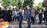 Президентът Румен Радев впечатлен от развитието на Сандански