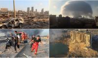 Потресаващи кадри от Бейрут, взривът е чут чак в Кипър