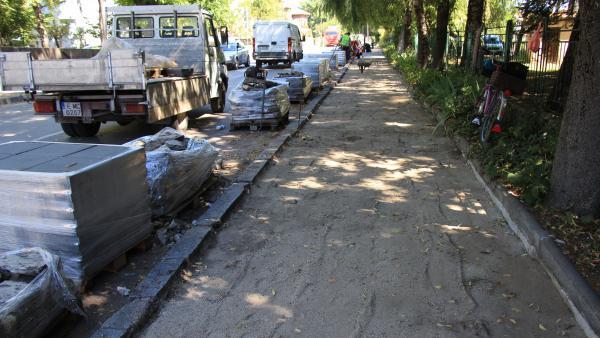 Стартира рехабилитацията на улици в Банско