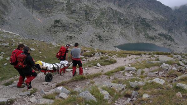 Спасиха жена със счупен крак в Пирин