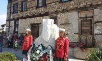 Паметник на Неофит Рилски скара Банско и Разлог
