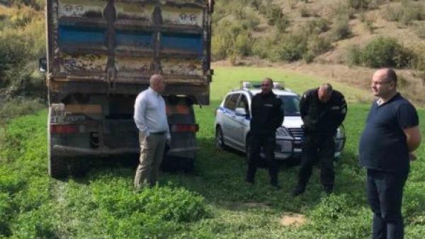 Ревизоро участва в полицейска  акция край Петрич