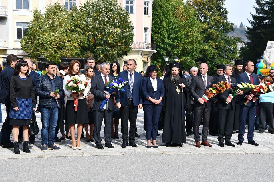 Разлог празнува 108 години свобода, кметът на Банско  уважи празнка