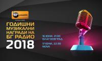 На 16 юни БГ радио връчва годишните музикални награди
