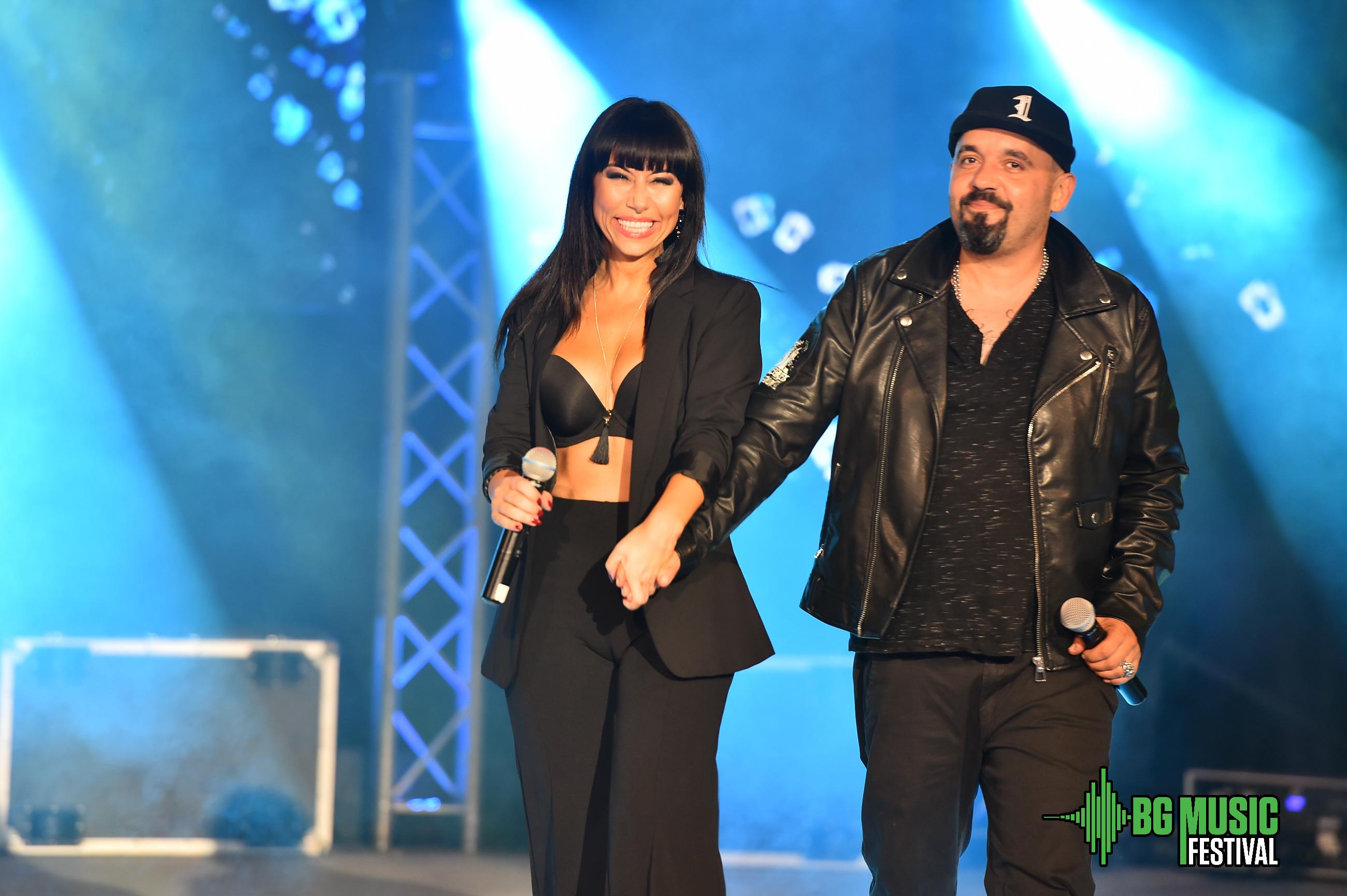 Фурор в Сандански! Тита, Дичо и Теди Кацарова взривиха сцената на летния театър по време на BG Musik Festival