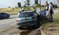 Жена почина, а мъж е в реанимация след катастрофа в Благоевград