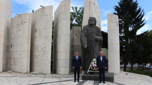 Банско отбеляза тържествено 296-та годишнина от рождението на своя съгражданин Паисий Хилендарски