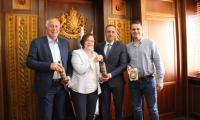 Кметът на Банско - домакин на среща с община Троян