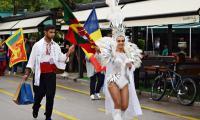 Младежи от 25 държави дефилираха по улиците на Сандански, състезават се в конкурс за красота
