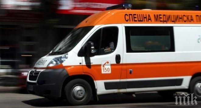 Работник на АМСтрума падна от 3 метра височина заради срутил се кофраж