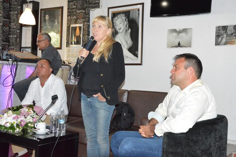 Елена Йончева представи филма си  Граница  в Гоце Делчев