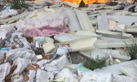 Гори сметището край Изгрев, подпалени са боклуците от санирането
