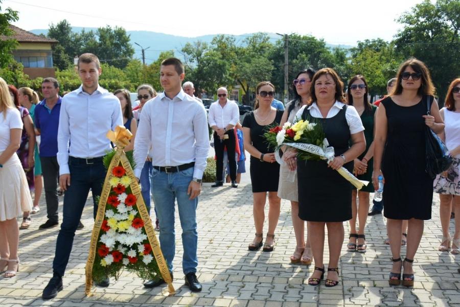Симитли почете героите от Илинденско-Преображенското въстание