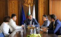 Дистрикт гуверньора на Ротари България на среща при кмета на Банско