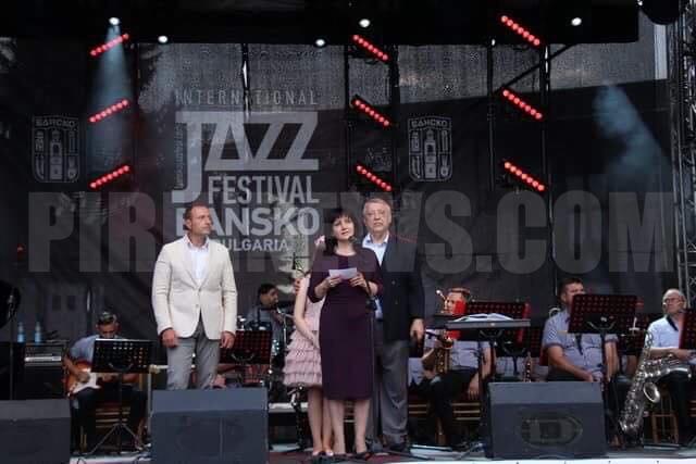 Банско тупти в ритъма на джаза, Цвета Караянчева откри фестивала