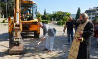 Първа копка на новия център на Симитли за 2 млн.лева