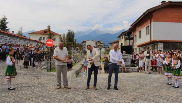 В Банско откриха уникална арт улица за 3,6 млн.лева